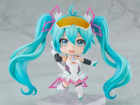 Hatsune Miku GT Project Nendoroid PVC Action Figure Racing Miku 2021 Ver.