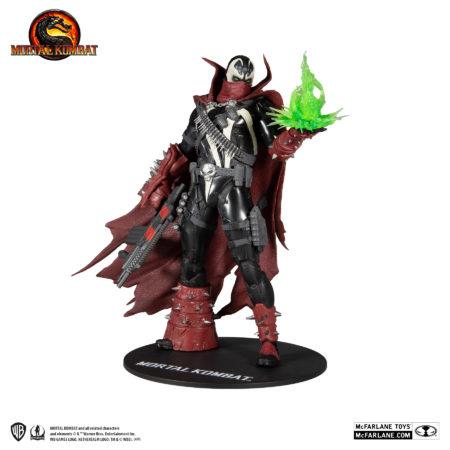 Mortal Kombat Action Figure Commando Spawn - Dark Ages Skin