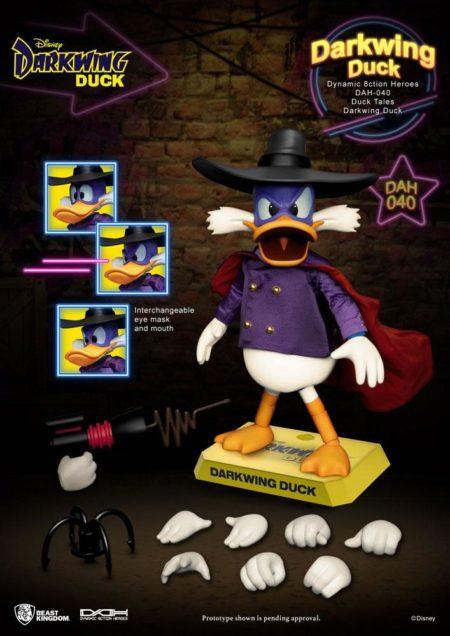 Darkwing Duck Dynamic 8ction Heroes Action Figure 1/9 Darkwing Duck