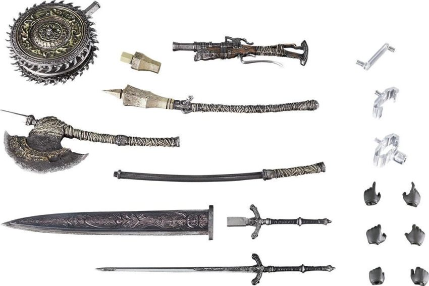 Bloodborne: The Old Hunters figma PLUS Hunter Weapon Set