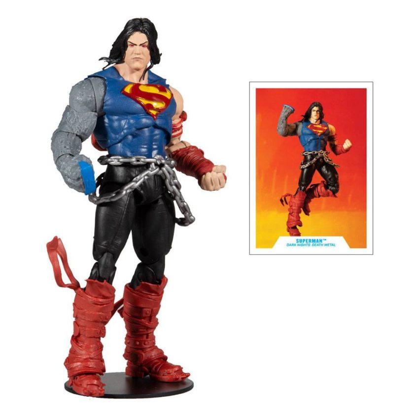McFarlane Toys DC Multiverse Superman (Build a Figure Darkfarther wave)