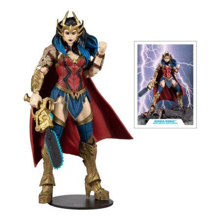 McFarlane Toys DC Multiverse Wonderwoman (Build a Figure Darkfarther wave)
