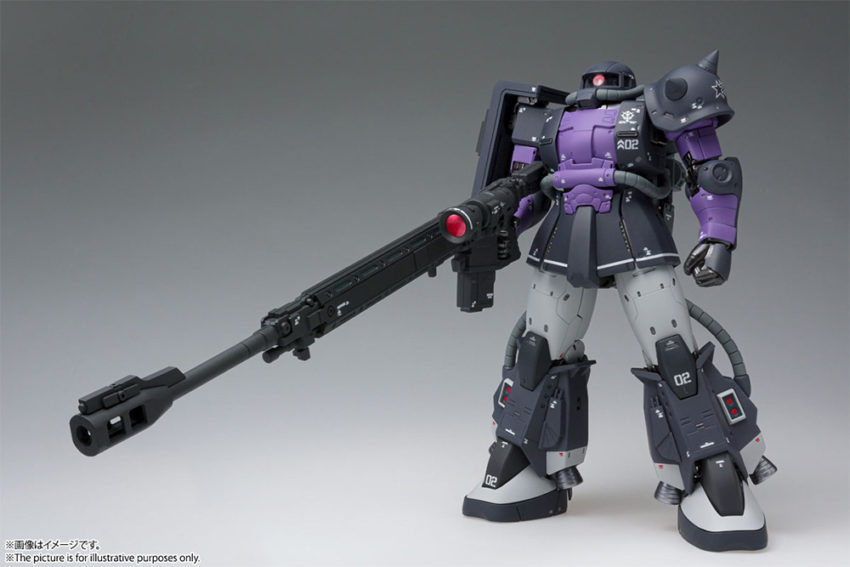 GUNDAM FIX FIGURATION METAL COMPOSITE MS-06R-1A HIGH MOBILITY ZAKU II