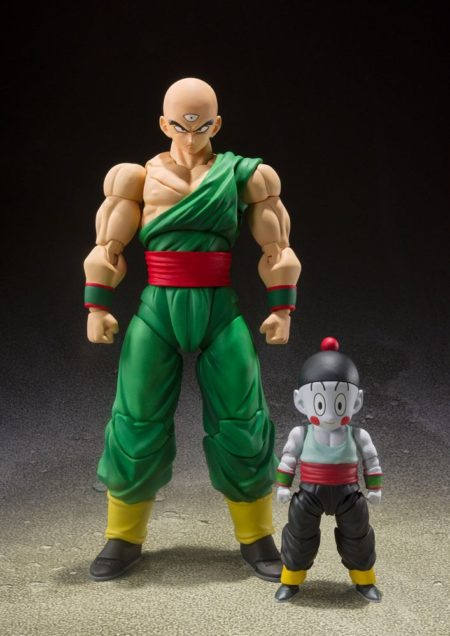 Dragon Ball Z S.H. Figuarts Action Figure 2-Pack Tenshinhan & Chaoz