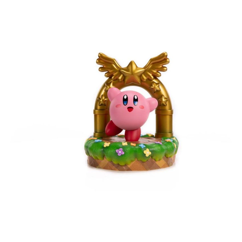 Kirby PVC Statue Kirby and the Goal Door