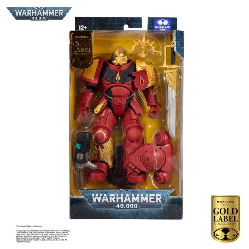 Warhammer 40k Action Figure Blood Angels Primaris Lieutenant (Gold Label Series)