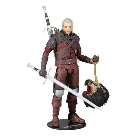 McFarlane Toys The Witcher 3: Wild Hunt Action Figure Geralt of Rivia (Wolf Armor)