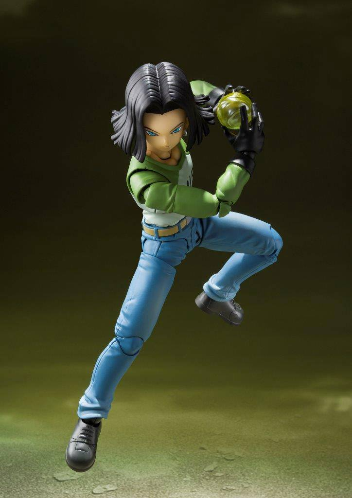 Dragon Ball Super S.H. Figuarts Action Figure Android 17 (Universe Survival Saga)