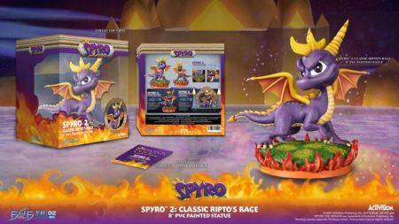 Spyro 2: Ripto's Rage PVC Statue Spyro