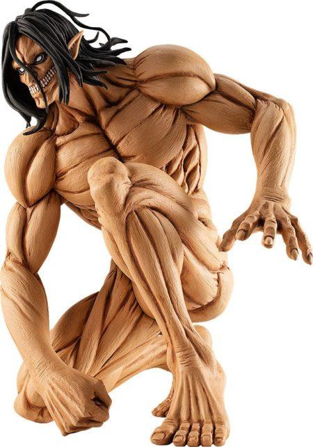 Attack on Titan Pop Up Parade PVC Statue Eren Yeager: Attack Titan Ver.