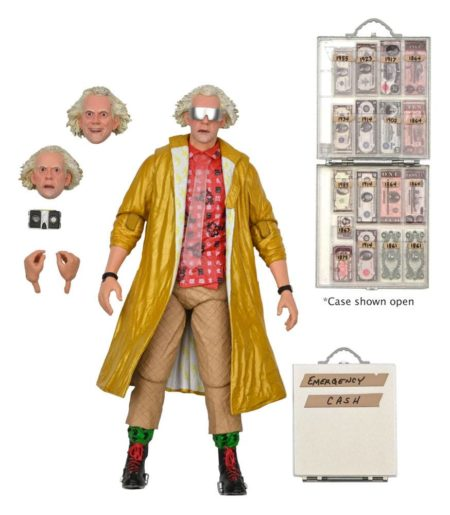 Back to the Future 2 Action Figure Ultimate Doc Brown (2015)