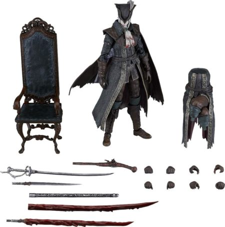 Bloodborne: The Old HuntersFigma Action Figure Lady Maria of the Astral Clocktower: DX Edition