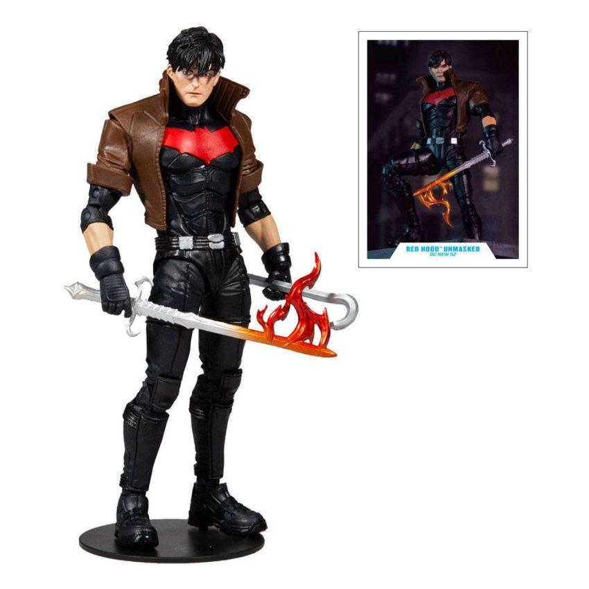 DC Multiverse McFarlane Toys Red Hood Unmasked