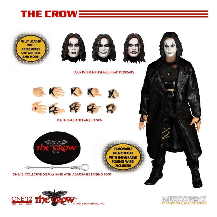 The Crow Action Figure 1/12 Eric Draven